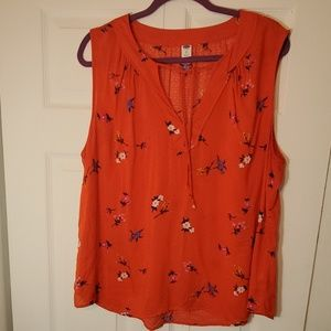 💕New Listing💕 Orange old navy top